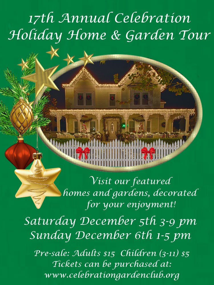 17th Annual Celebration Holiday Home And Garden Tour