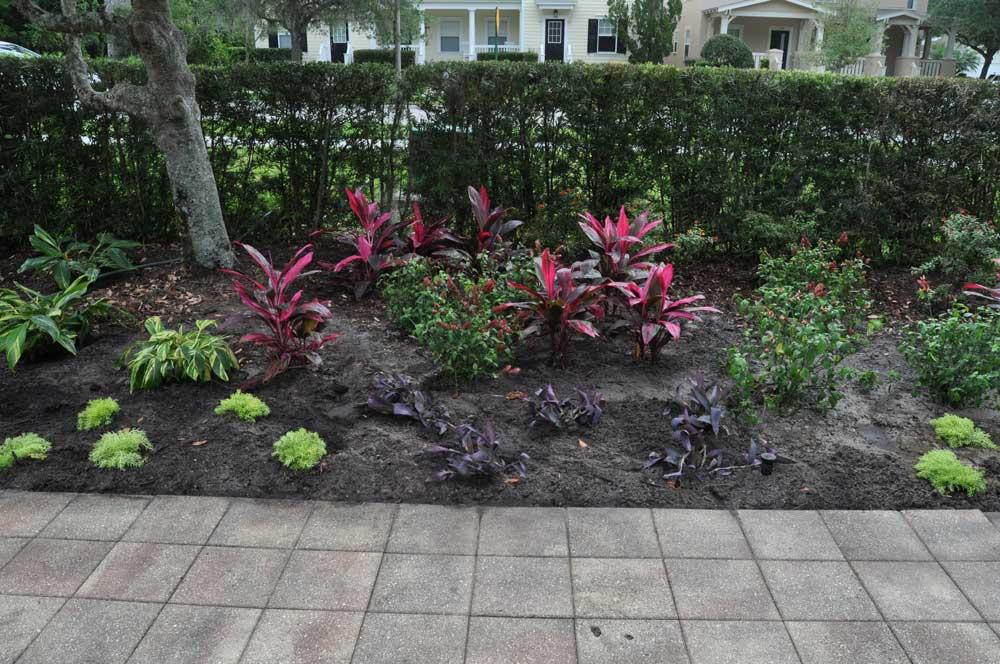 2017-04 Memorial Garden beautification