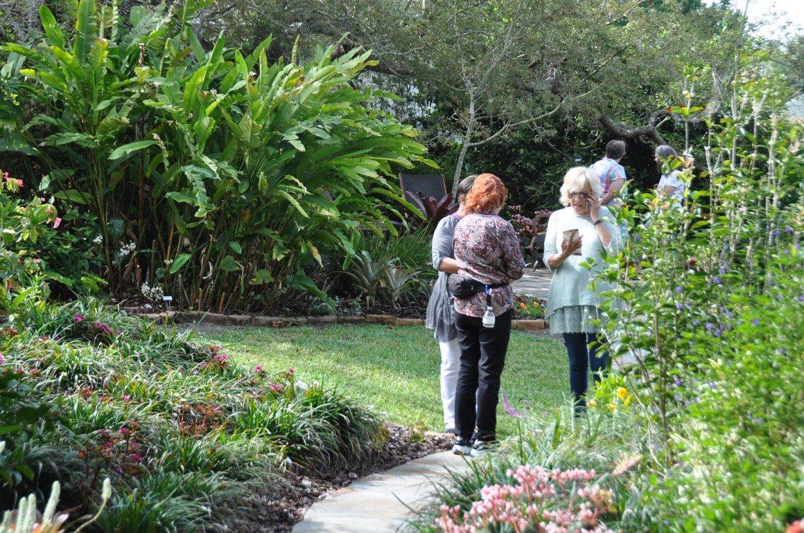 2019-03-20 Mount Dora garden tour