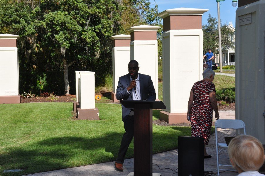 2019-11-23 Remembrance Ceremony at the Celebration Memorial Garden